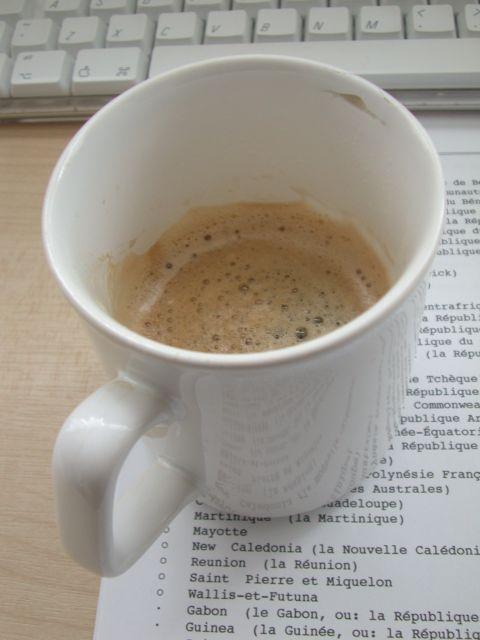 Koffie Mok - Nodig voor de Opzet